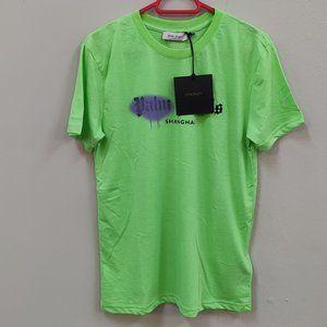 Palm Angels Shanghai Green Casual T-Shirt
